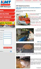 KMT Waterjet Success Stories